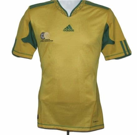 2009-2011 South Africa Home Football Shirt, Adidas, Small (Excellent Condition)